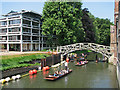 TL4458 : The Cam at Queens': piling, punts and the Mathematical Bridge by John Sutton