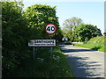 TA2432 : Entering Danthorpe on Southfield Lane by Neil Theasby