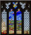 TF1554 : Millennium window, St Michael and All Angels church, Billinghay by Julian P Guffogg