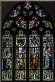TF1554 : East window,  St Michael and All Angels church, Billinghay by Julian P Guffogg