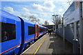 TQ1878 : South West Train at Kew Bridge Station by N Chadwick