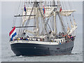 J5082 : Tall Ship 'Mercedes' off Bangor by Rossographer