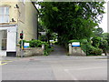 SW6941 : Entrance to Trengweath Hospital,  Redruth by Jaggery