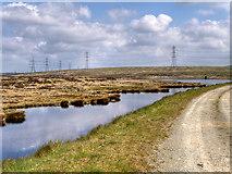 SD9620 : Pennine Way and Light Hazzles Reservoir by David Dixon