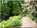 SJ8383 : Lower Garden at Quarry Bank Mill by David Dixon