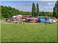 SD8304 : Bank Holiday Fairground, The Bowl at Heaton Park by David Dixon