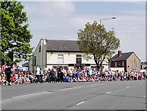 SD7807 : Carnival Crowds Outside the Royal Oak by David Dixon