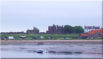 NU1241 : Lindisfarne Priory by Len Williams