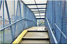 J3272 : Railway footbridge, Donegall Avenue, Belfast - June 2016(2) by Albert Bridge