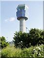 SJ4381 : Air Traffic Control Tower at Oglet by David Dixon