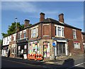SJ8744 : Stoke-on-Trent: corner of Sheppard Street and London Road by Jonathan Hutchins