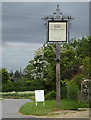 TL9957 : The Buxhall Crown Public House sign by Adrian Cable