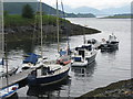NN0858 : Boats at Ballachulish by M J Richardson