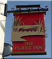 NZ2242 : Sign for the Flass Inn, Ushaw Moor by JThomas