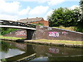 SP0394 : Old build then new build-Tame Valley Canal, West Midlands by Martin Richard Phelan