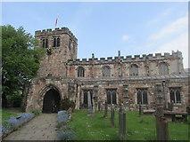NY6820 : Appleby parish church. by steven ruffles