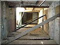TG2712 : The old gymnasium - interior by Evelyn Simak