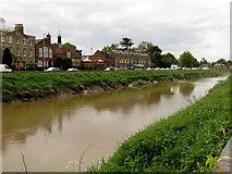 TF4509 : The River Nene in Wisbech by Steve Daniels