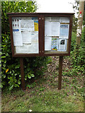 TL9568 : Stowlangtoft Village Notice Board by Geographer