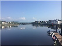 R5757 : River Shannon at Limerick by Bob Jones
