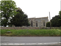 TL9568 : St.George's Church, Stowlangtoft by Geographer
