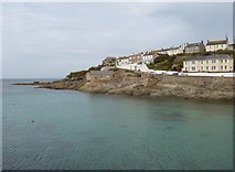 SW6225 : Waterfront houses at Breageside, Porthleven, Cornwall by Derek Voller