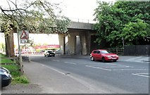 H8744 : Viaduct carrying the A28 over Irish Street by Eric Jones