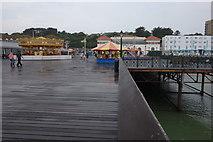 TQ8109 : On Hastings Pier by Peter Jeffery