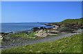 NG4173 : Shoreline at Duntulm by John Allan