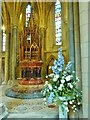 SW8244 : A most elaborate font, Truro Cathedral by Derek Voller