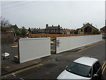 NT9953 : New offices under construction, Walkergate, Berwick-upon-Tweed by Graham Robson