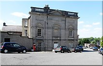 H8745 : The east facing side of the Armagh Public Library by Eric Jones