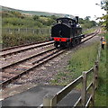 SO2508 : Lineside photographer and Webb  Coal Tank, Blaenavon by Jaggery