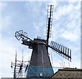 TQ2706 : The top of West Blatchington Windmill by Shazz