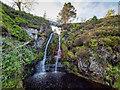 NH8540 : Waterfall on the Allt Carn a' Mhàis Leathain by valenta