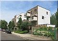 TQ2583 : Balconies, Granville Road by Des Blenkinsopp