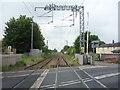 SJ8055 : Railway towards Crewe by JThomas