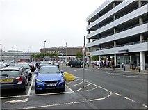 NT1473 : Edinburgh Airport Terminal building by Russel Wills