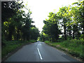 TL9382 : Brettenham Road, Shadwell by Adrian Cable
