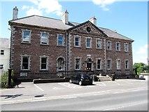 H8745 : The former Armagh City Hospital, Abbey Street by Eric Jones