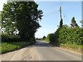 TL9383 : Brettenham Road, Brettenham by Adrian Cable