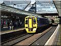 NT2373 : Haymarket railway station by Thomas Nugent
