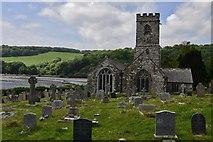 SX1156 : St. Winnow: St. Winnow Church by Michael Garlick