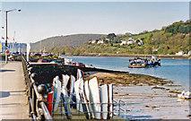SX8751 : Dartmouth Harbour, 1995 by Ben Brooksbank