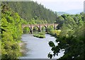 NT2340 : Neidpath Viaduct over the Tweed by Jim Barton