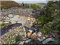 NH8540 : Intake Weir on the Allt Carn a' Mhàis Leathain by valenta