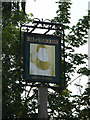 TM0848 : The Duke of Marlborough Public House sign by Adrian Cable