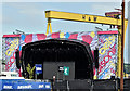"J3575 : ""Belsonic"" stage, Belfast (June 2016) by Albert Bridge"