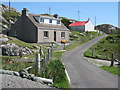 NG1592 : Houses at Greosabhagh by M J Richardson