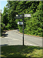 TM0649 : Roadsign on Castle Road by Adrian Cable